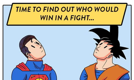 Goku vs. Superman: Who will win?