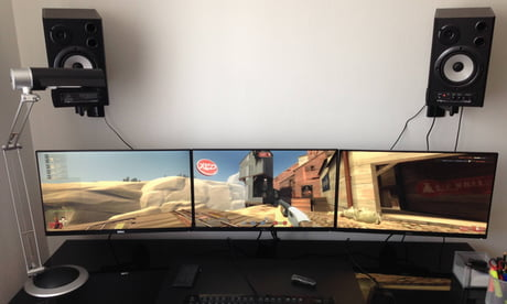 Triple Monitor Setup