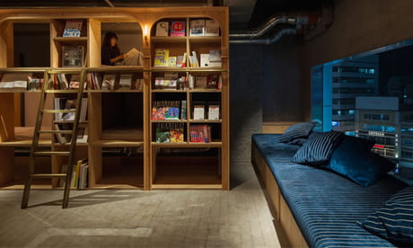 This Bookstore-Themed Tokyo Hotel Is A Paradise For Book Lovers!