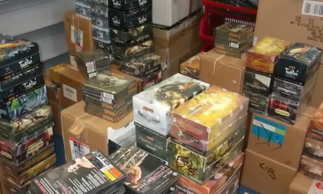Some guy spent $9000+ to buy 15000 games in an auction