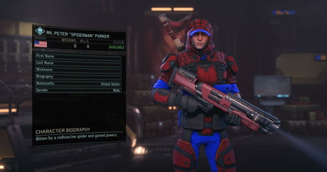 Some dude made Marvel Superheroes in XCOM 2