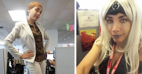 This Woman Was Told Her Outfit Was Unprofessional, So She Goes To Work... In Cosplay!