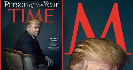 There might be hidden messages in Trump's Person of the Year cover