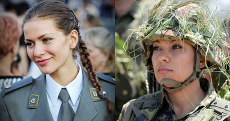 Beautiful serbian soldiers
