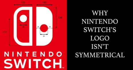 In response to the post about Nintendo Switch's logo