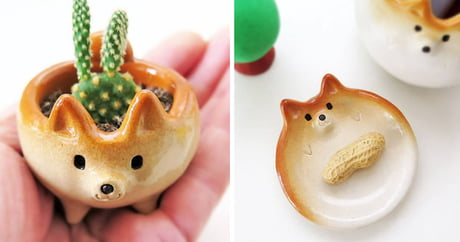 These doge figurines are way too cute