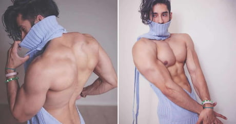 Virgin killing sweater finds new appeal on male cosplayer
