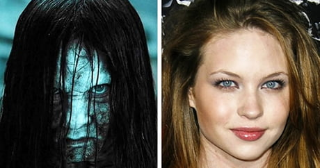 Horror actor and their real faces