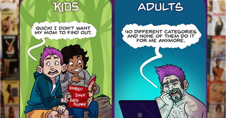 What You Wanted As A Kid vs As An Adult