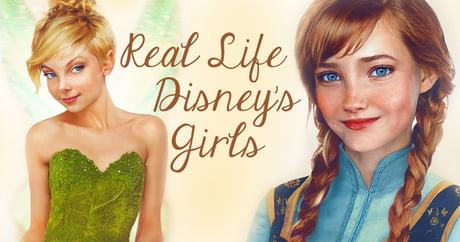 This designer makes the Disney Girls alive.