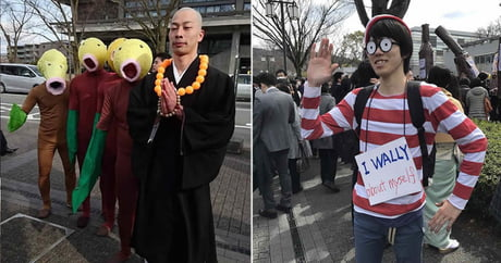 Graduation Day At Japan's Top-Ranked University Is A Giant Cosplay Party