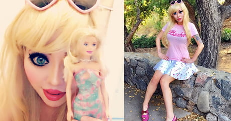 Meet the human barbie who wants to get a rib-removal to become more barbie-like