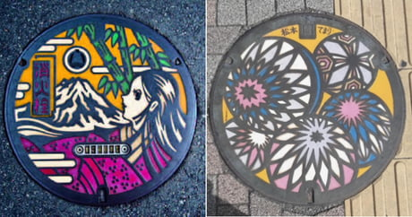 Drainspotting: The Beauty of Japan's Artistic Manhole Covers