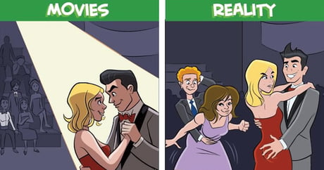 Prom in Movies vs Reality