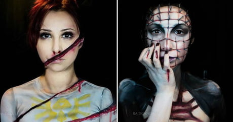 Makeup artist turns herself into terrifying monsters that may give you nightmares
