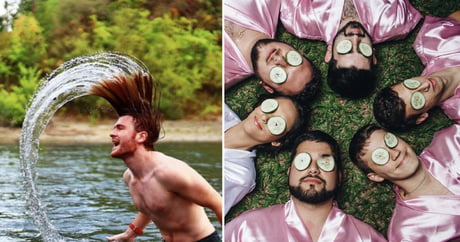 These Guys Creatively Imitate Girls On Social Media