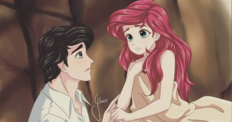Artist Turned Disney Princesses Into Adorable Anime Style Characters