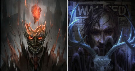 Artist remakes Harry Potter's movie poster in horror version