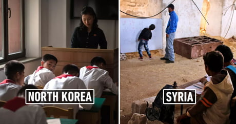 33 Overwhelming Photos Of Classrooms Around The World