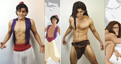 Incredible Cosplayer Transforms Himself Into Our Favourite Disney Characters